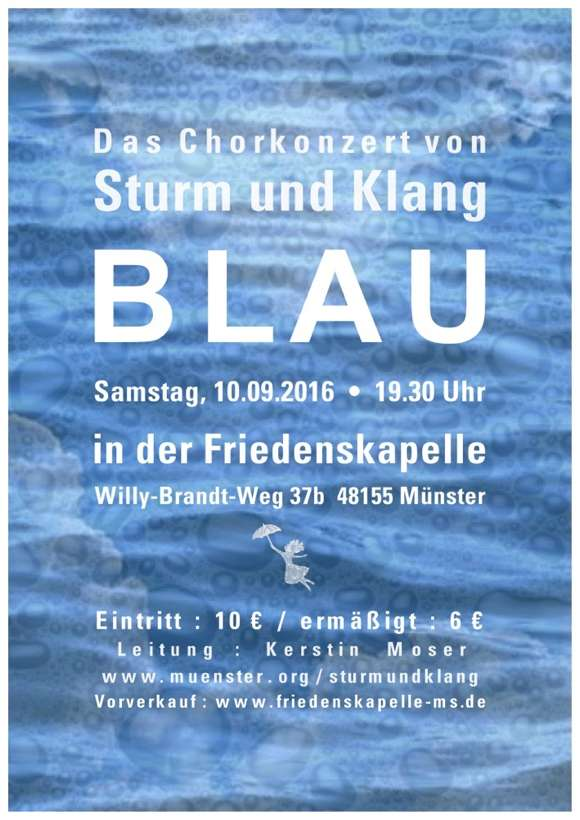 Konzertplakat Sturm-und-Klang 2016